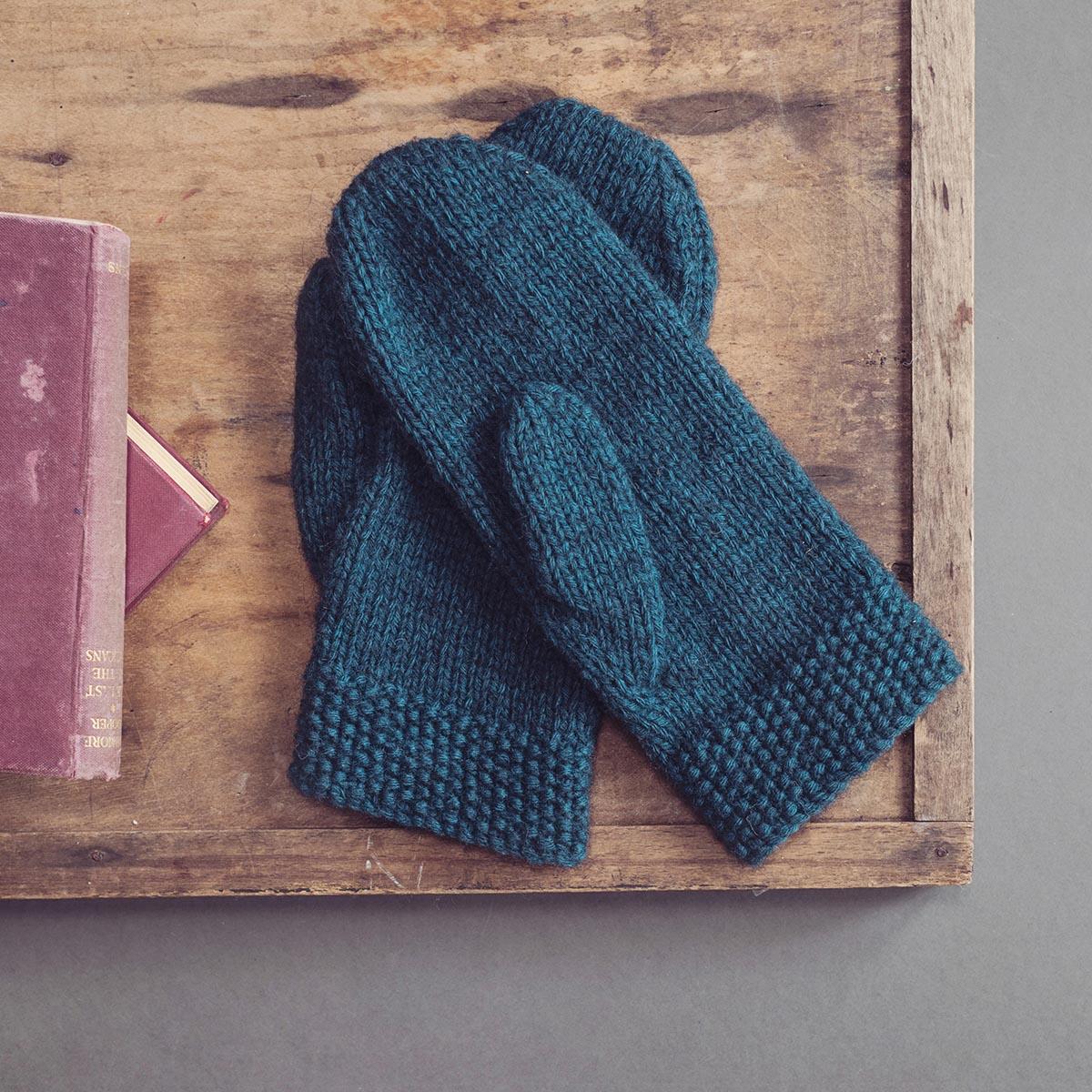 Downloadable - Warm Ladies Mittens, Knitting Pattern ...